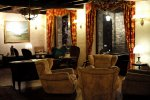 rustykalny salon
